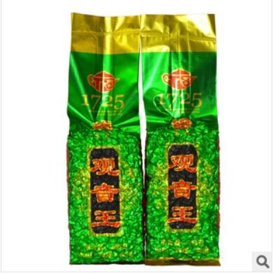 250g Top grade Chinese Anxi Tieguanyin Oolong tea,Tie Guan Yin tea, Health Care tea, Vacuum Pack, 1725,Free Shipping(China (Mainland))