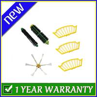 Side Brush Filter 6 Armed kit for iRobot Roomba 500 Series 510 530 560 570 580