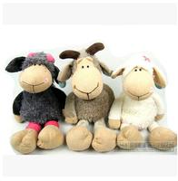 25 cm NICI Butterfly sheep, gray sheep, goats sheep nightcap orange windbreaker sheep dressed in skins of sheep to send children