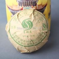 Free Shipping 100g puer tea,good health slimming chinese tea,Yunnan Pu'er raw tea/ripe tea