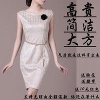 Vestido New Summer 2014 Slim Hip Office Lady Quality Brand Elegant Plus Size Lace Female Clothing Women One-piece Dress Formal