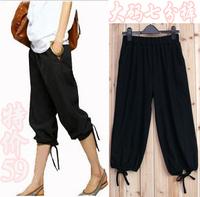 2014 plus size Women's clothing summer mm fashion plus size casual legging Pants