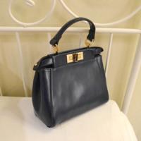 Fashion mini peekaboo kitten bag star genuine leather one shoulder cross-body women's handbag small bag