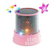 Starry Night Sky Projector Colorful LED Night Light AC/3xAA New 1pcs(China (Mainland))