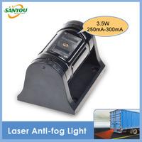 Newest 1 pcs DC6-36V 1.68W Waterproof Antifog Shockproof Led Laser Anti-fog Light for all Cars Trucks