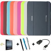 """4 in 1, Pu leather stand smart case cover for samsung galaxy note Pro 12.2"""" P900 P901 P905 + Screen protector + OTG + Stylus"""