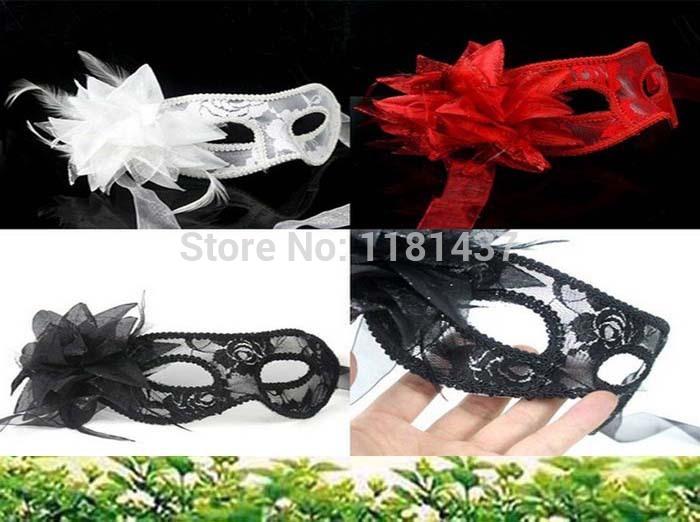 20 pçs/lote 2014 nova chegada hot sale moda artesanal partido Lace Wedding máscara Costume dança disfarce Venetian flor(China (Mainland))