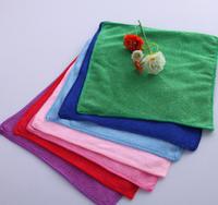 Wholesale 5pcs Square Luxury Soft Fiber Cotton Face/Hand Car Cloth Towel 25*25cm House Cleaning