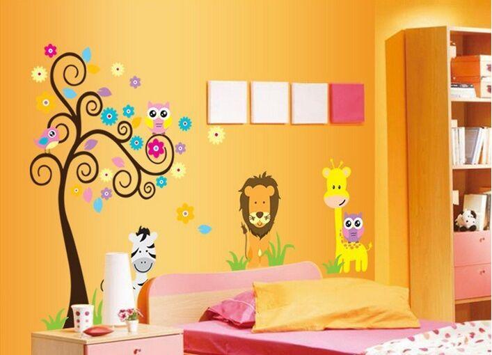 Free Shipping:Fashion 60*90CM Large Popular Pixar Car Cartoon Transparent PVC Wall Decals/Wall Mural PVC Wall sticker Room Decor(China (Mainland))