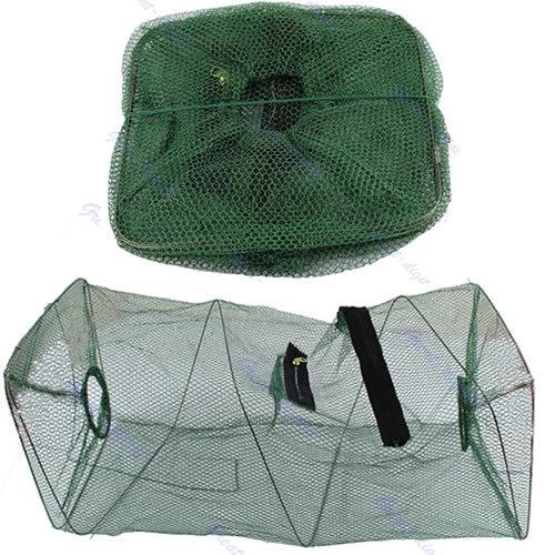Hot Sale Foldable Crab Fish Crawdad Shrimp Minnow Fishing Bait Trap Cast Dip Net Cage Free Shipping -PY(China (Mainland))