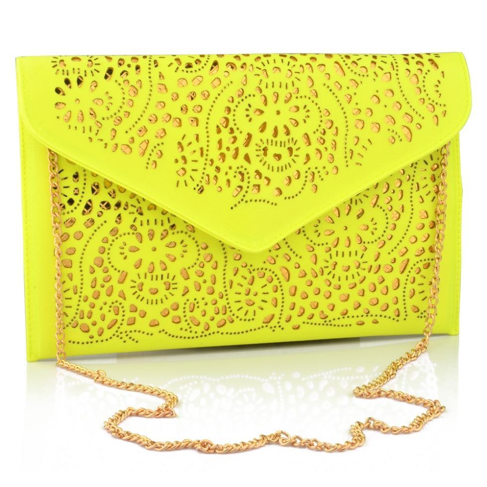 AliExpress.com Product - 2014 Vintage National Women's Trend Handbag Cutout Envelope Bag Shoulder Crossbody Bag Day Clutch Bag