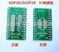 Электронные компоненты TSSOP28 /SSOP/SOIC/MSOP 20PCS/LOT /tssop20 DIP28 1,27/0,65 IC 2,54 /pcb TSSOP20 turn DIP28