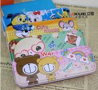 estojo escolar children's stationery cartoon pencil case school cute box pencil-case supplies products for pens kids pen cases