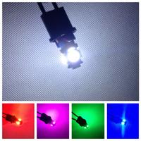 DHL free to many countries!!!100pcs car LED Lamp T10 5SMD 5 SMD 5LED WHITE LAMP W5W 194 5050 SMD 5 LED White Light Bulbs