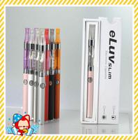 eLuv original Electronic Cigarette kit Gift Box with Mini CE4 Atomizer rebuildable atomizer 310mah 850Puffs eluv e cig