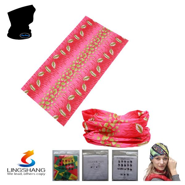 LS033 2014 hot shop elastic hair bands hair accessories wholesale hijab Multifunctional printing bandana(China (Mainland))