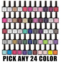 Pick Any 24 in New 73 Color MSKEIKO Soak-off UV Led Gel Polish SHELLAC Nail Art 10ml