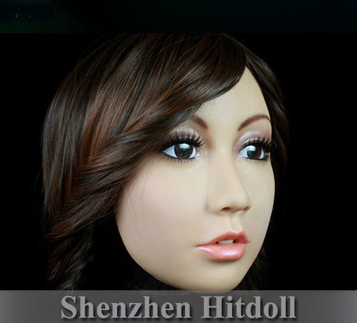 Sh-1 Top-Qualität partei maske maskerade masken weibliche silikon masken gesichtsmaske versandkostenfrei