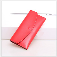 ladies fashion more practical trend fashion leather wallet free shipping