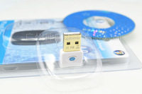 NEW USB bluetooth CSR 4.0 dongle Adapter A2DP bluetooth 2.1 for PC Laptop+ Retail packages  Free shipping