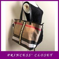 bolsas femininas de ombro brand design genuine leather canvas shopper handbag large tote bags shopping bag