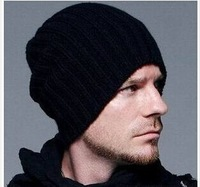 2014 Hot  Fashion Beckham knitted  hat   man  and  woman  Autumn and winter hat