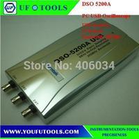 Hantek DSO-5200A 200MHz 2 Channels 250MS/s USB PC Digital Oscilloscope