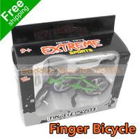 Children's Day Gift Finger Bicycle Finger Bikes Alloy Bike As Knick-Knack Children Toys Free Shipping