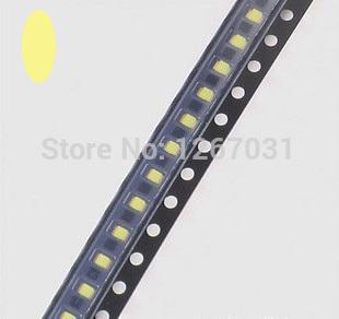 100pcs SMD SMT Warm white 1206 Super bright LED lamp light High quality New(China (Mainland))