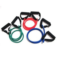 Yoga Exercise Resistance Band Stretch Fitness Tube Cable For Workout Yoga Muscle Tool 06053