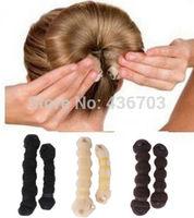 Details about Hot Fashion Hair Elegant Magic Style Bun Maker Buns (1 large 1 small) 3 Colors k