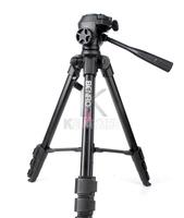 BENRO Aluminum Alloy Portable 3-way Damp Head Tripod T-880EX for DV Digital Camera DSLR Free Shipping