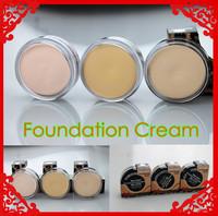 2014 New Fashion Facial Makeup Foundation Cream Make-up Base Long Lasting 15g, 3 Color Select, Free shipping!