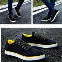 factory sale new 2014 velvet Canvas, Cotton Fabric breathable skateboarding male shoes men flats