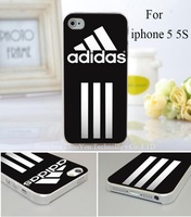 10PC for iphone 4 4s 4g 4th Case Cover Hard Transparent Brand adi sport series Style drop shipping