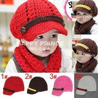 Free Shipping 1piece solid Warm Baby Berets children kids girls/boy Hat, beanie pilot Hats Bomber, cap baby hat