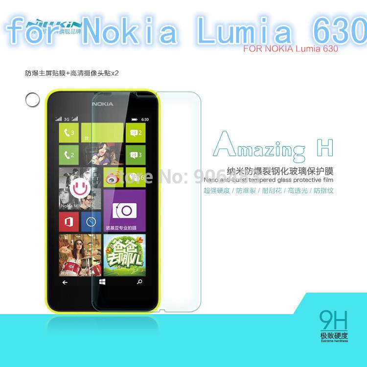 Защитная пленка для мобильных телефонов High-tech Nillkin H Lumia 630 Nokia Lumia 630 Hk POST защитная пленка для мобильных телефонов 6 x hd microsoft nokia lumia 535