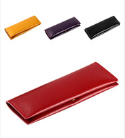 VEEVAN Vintage Retro Luxury Leather Pen Pencil Bag Pouch Purse Bag for School & Office School Pencil Case UBBPB01440