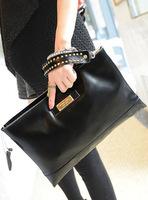 2013 new European and American major suit Ladies Leather Shoulder Bag Handbag high-grade leather female Bag Satchel
