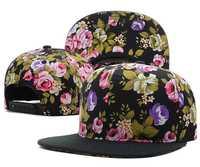 Baseball Cap 2014 New Blank Floral Script Snapback Hats Classic Men & Women's Designer Flower Snapback Caps Hip Hop Freeshipping