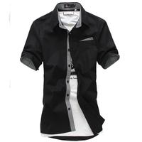 Free shipping Europe plus size brand XXXL 4xl 6xl 8xl shirt tshirt short-sleeve shirt cotton brand black short-sleeve 10XL