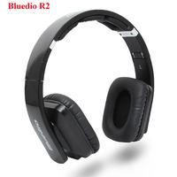 Original Foldable Black Bluedio R2 8 Dynamic Audio Speaker Headset Bluetooth 4.0 Earphones Card Stereo Hifi Wireless Earphones