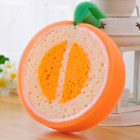 Tempting fruit thick sponge scouring pad / wash cloth Household Cleaning Tools  Cleaning Cloths 5pcs/lot
