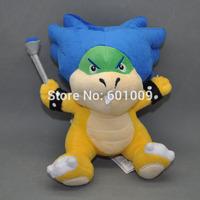 "Free Shipping New Super Mario Bros. Plush Doll Figure KOOPA LUDWIG 6"""