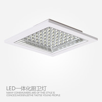 Hot Square LED kitchen lights / WC Kitchen / water fog and dust / surface mounted installation of kitchen lighting