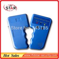 Free shipping Handheld 125Khz RFID ID card Copier Writer / Duplicator/ ID Card Copy +5pcs T5577 card+10pcs EM/TK4100 card