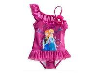 Free shipping FROZEN Elsa Anna girl girls summer swimwear swimmer bather swimsuit tutu dress 5 pcs/lot