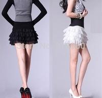 spandex shorts women sport crochet lace shorts,Multi-layer lace sexy woman short,pantalon corto,Wfw