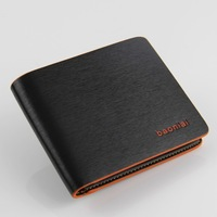 Free shipping/new 2014/hot sale wallets/men wallets/pu/faux leather/028/male purse/money clip/high quality/fashion designer