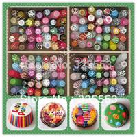 2014 hot sale 200pcs cake decorating tools cupcake liners box